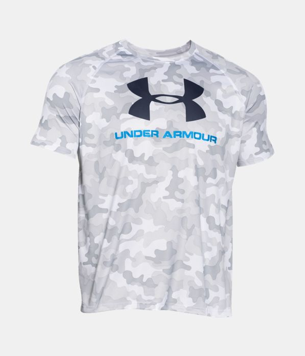 Men S Ua Tech Sportstyle Printed T Shirt Under Armour Ca