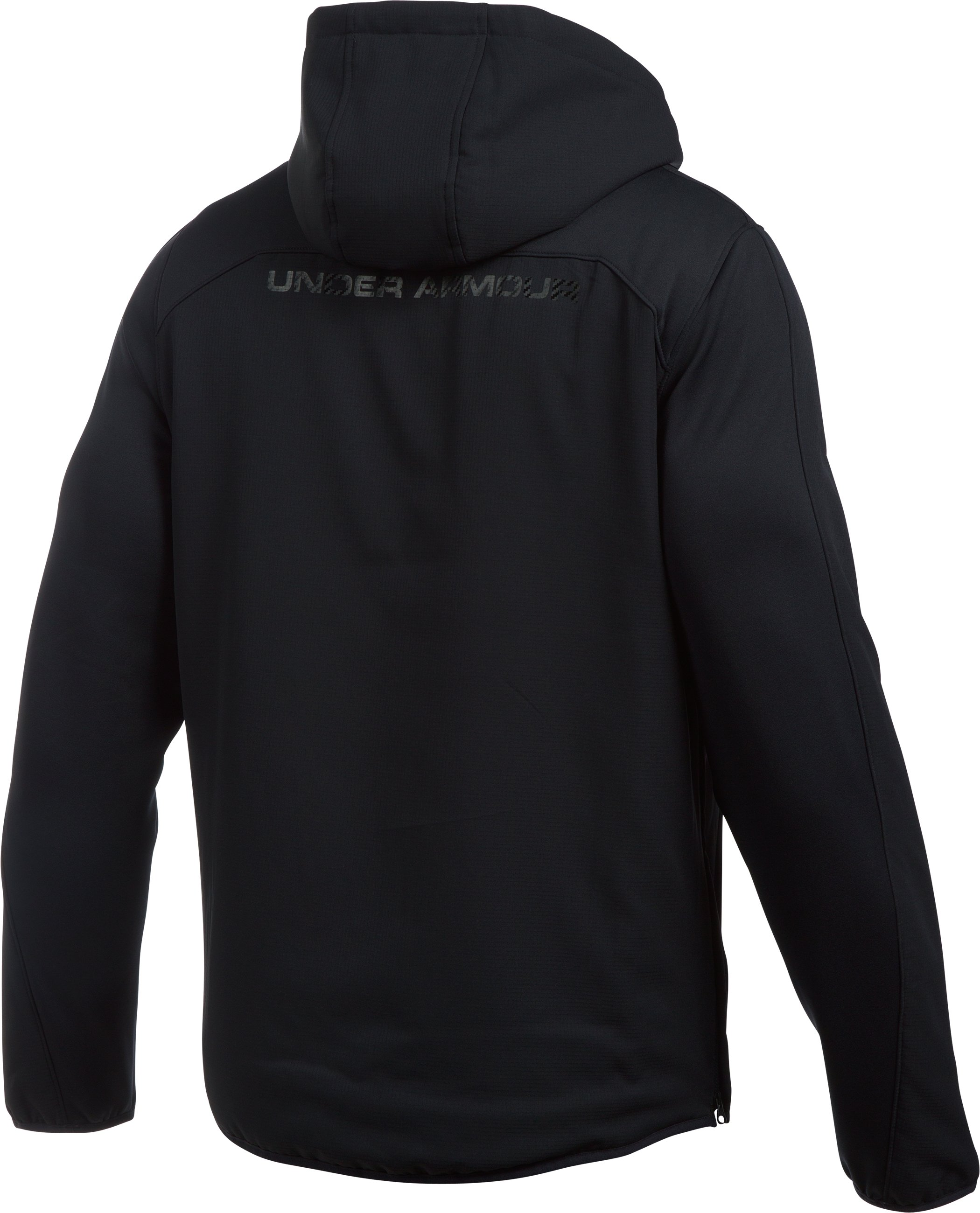 Men's UA Scope Alpha Hoodie, Black