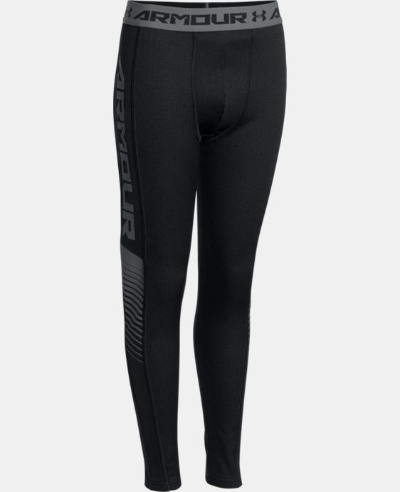 Boys' UA Lightweight ColdGear® Armour Up Fitted Leggings LIMITED TIME: FREE U.S. SHIPPING 1 Color $37.99