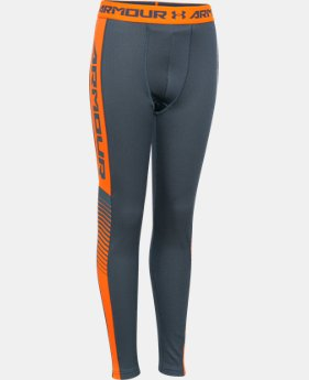 Boys' UA Lightweight ColdGear® Armour Up Fitted Leggings  1 Color $28.49