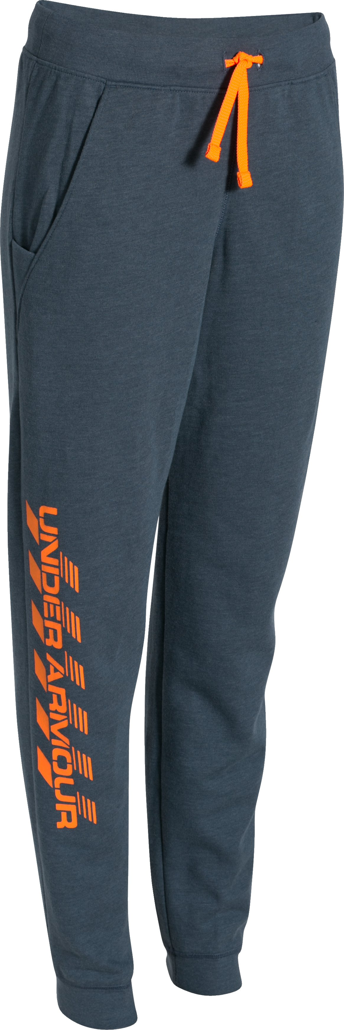 Boys' UA Surge Fleece Pants, Mechanic Blue