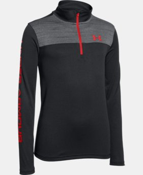 Best Seller Boys' UA Tech™ ¼ Zip LIMITED TIME: FREE SHIPPING 4 Colors $34.99
