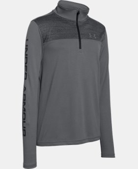 Best Seller Boys' UA Tech™ ¼ Zip LIMITED TIME: FREE SHIPPING 3 Colors $34.99