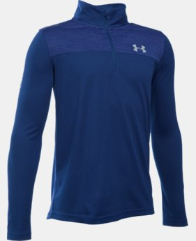 New Arrival Boys' UA Tech™ ¼ Zip  2 Colors $34.99
