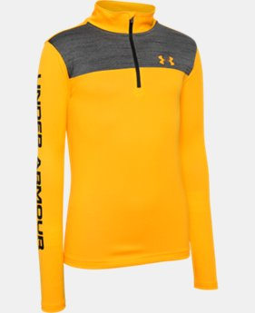 Boys' UA Tech™ ¼ Zip LIMITED TIME: FREE SHIPPING 1 Color $29.99 to $39.99