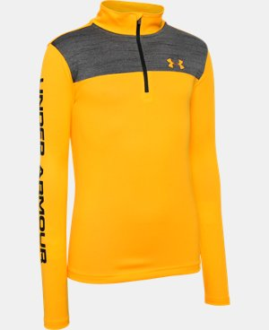 New Arrival Boys' UA Tech™ ¼ Zip  8 Colors $20.24 to $34.99