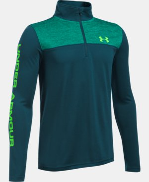 Boys' UA Tech™ ¼ Zip LIMITED TIME: FREE SHIPPING 4 Colors $26.99 to $39.99