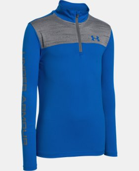 Boys' UA Tech™ ¼ Zip  2 Colors $39.99