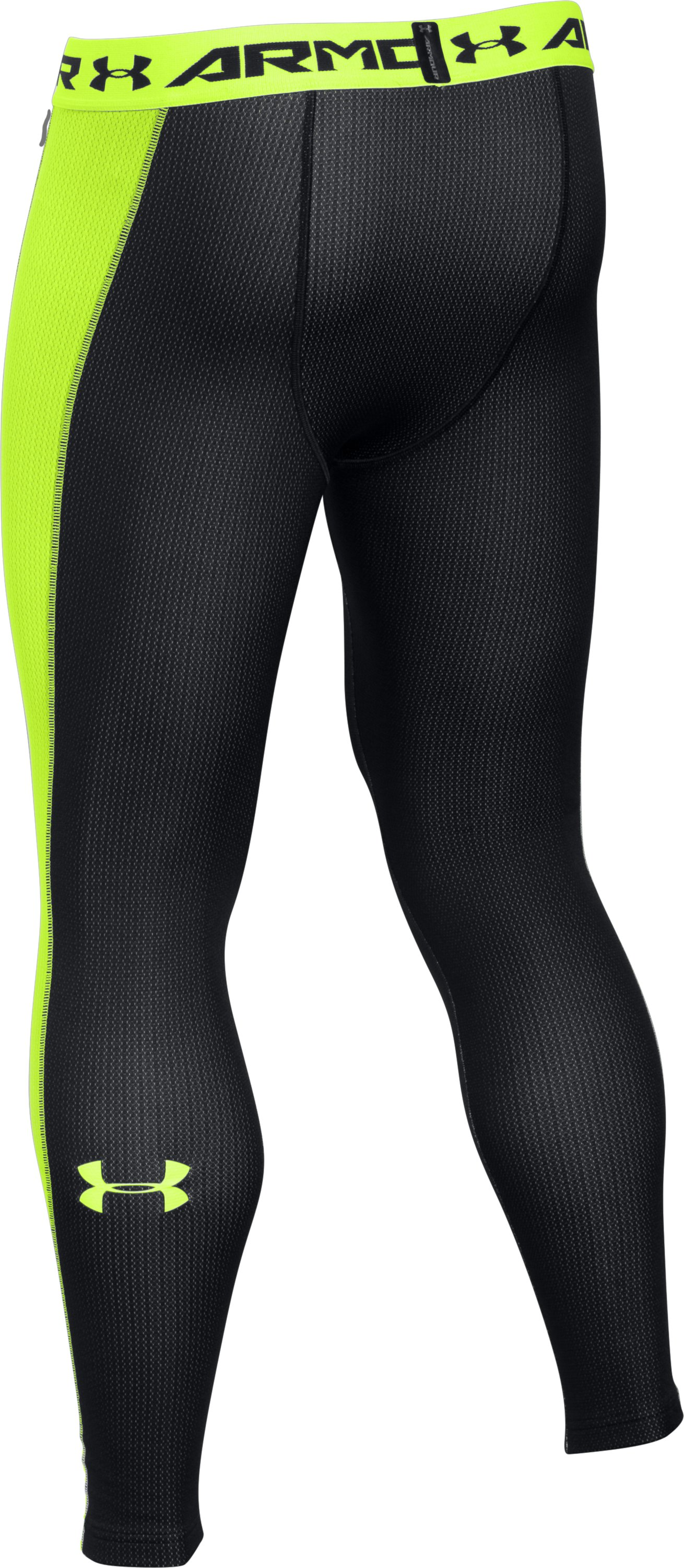 Men's ColdGear® Lightweight Leggings, Black ,