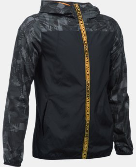 Boys' UA Storm Packable Woven Jacket LIMITED TIME: FREE SHIPPING 1 Color $69.99