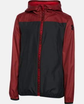 Boys' UA Storm Packable Woven Jacket  1 Color $33.74 to $44.99