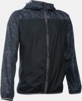 New Arrival Boys' UA Storm Packable Woven Jacket  1 Color $59.99
