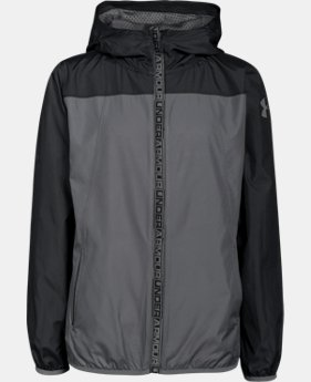 Boys' UA Storm Packable Woven Jacket  1 Color $33.74
