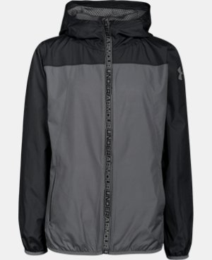 Boys' UA Storm Packable Woven Jacket  2 Colors $33.74