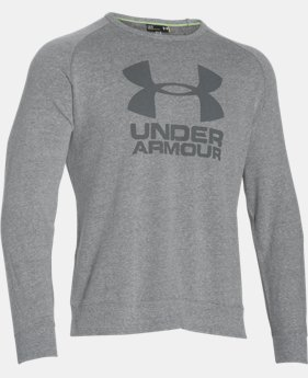 Men's UA Sportstyle Fleece Graphic Crew  2 Colors $29.99 to $37.99