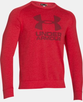 Men's UA Sportstyle Fleece Graphic Crew  1 Color $29.99 to $37.99