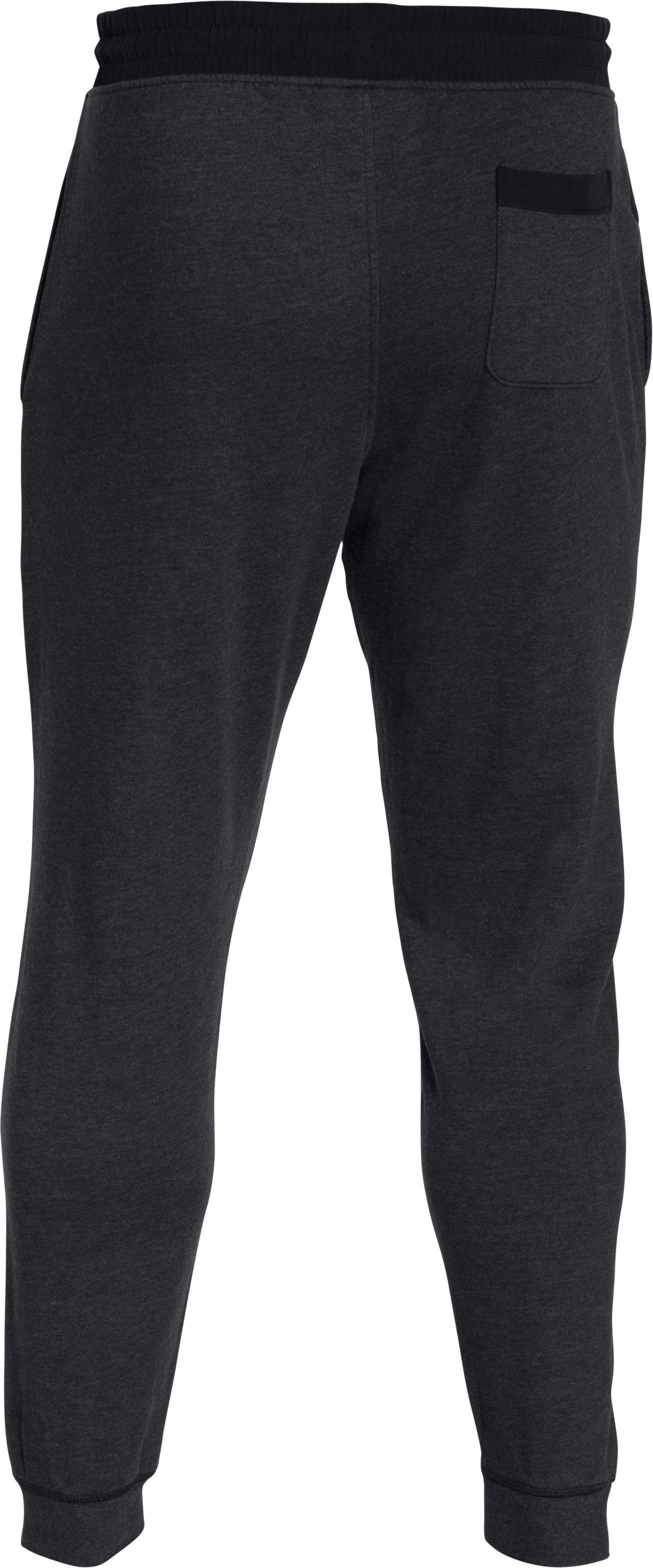 Men's UA Sportstyle Fleece Joggers, Asphalt Heather,