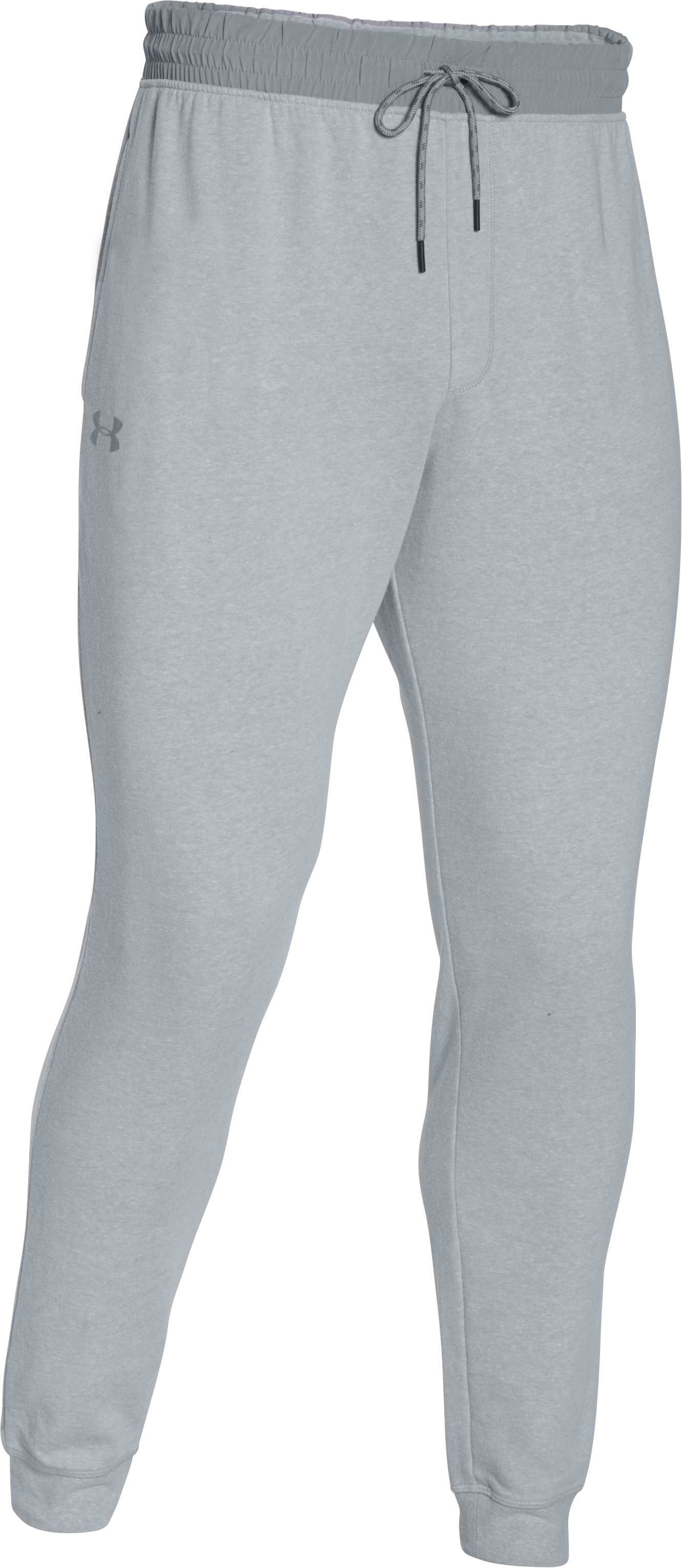 Men's UA Sportstyle Fleece Joggers, AIR FORCE GRAY HEATHER, undefined
