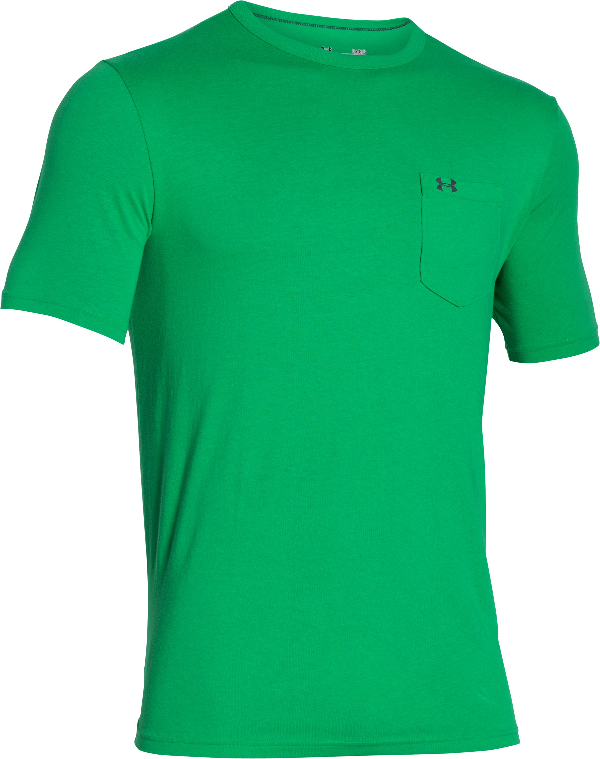Men's UA Pocket T-Shirt, Feisty,