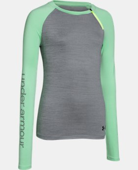 Girls' UA ColdGear® Raglan Crew  1 Color $33.74