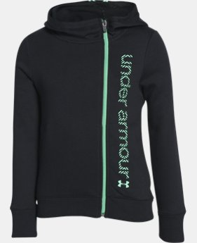 Girls' UA Surge Full Zip Hoodie LIMITED TIME: FREE U.S. SHIPPING 1 Color $32.99