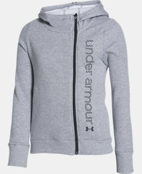 Girls' UA Surge Full Zip Hoodie  1 Color $32.99