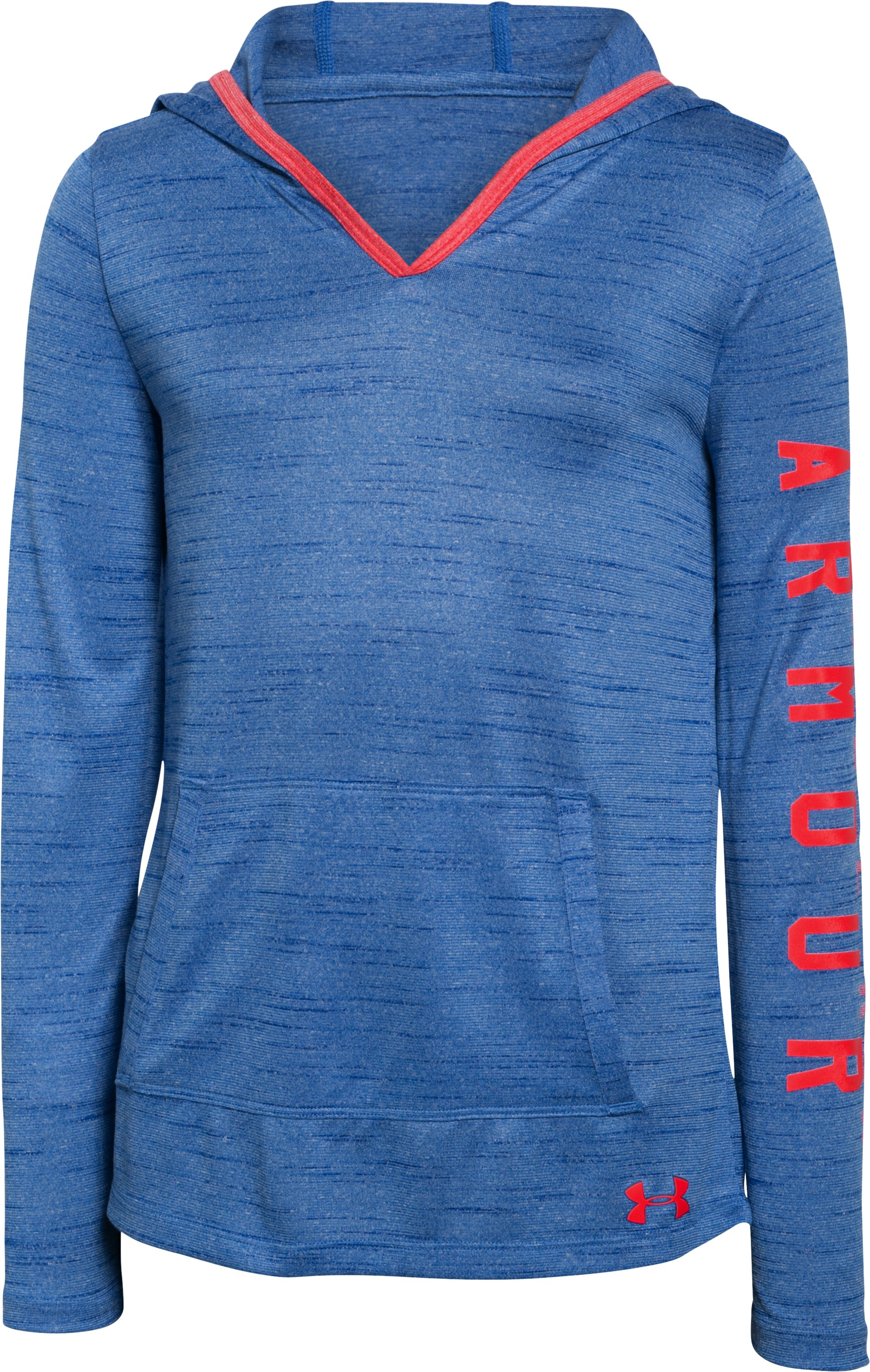 Girls' UA Tech™ Hoodie, ULTRA BLUE, undefined