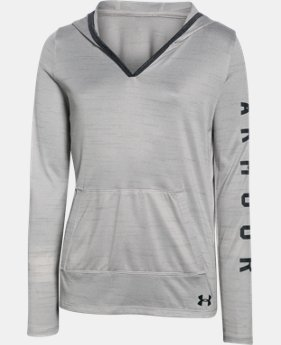Girls' UA Tech™ Hoodie  1 Color $33.99