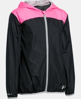 Girls' UA Fast Lane Packable Jacket