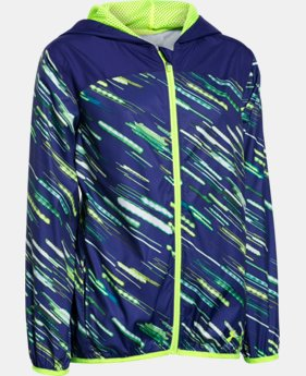 Girls' UA Fast Lane Packable Jacket  1 Color $35.99 to $44.99