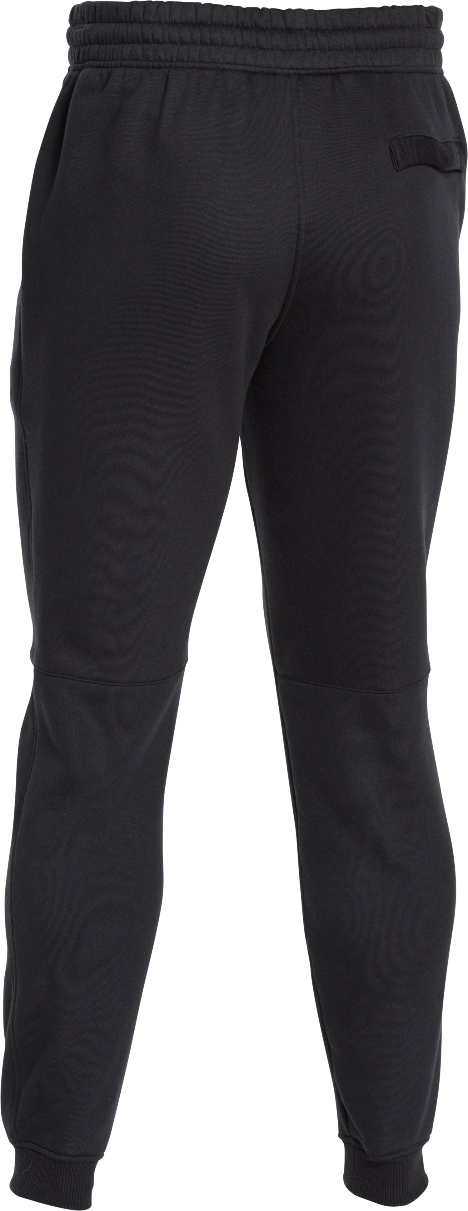 Men's UA Rival Fleece Joggers, Black ,