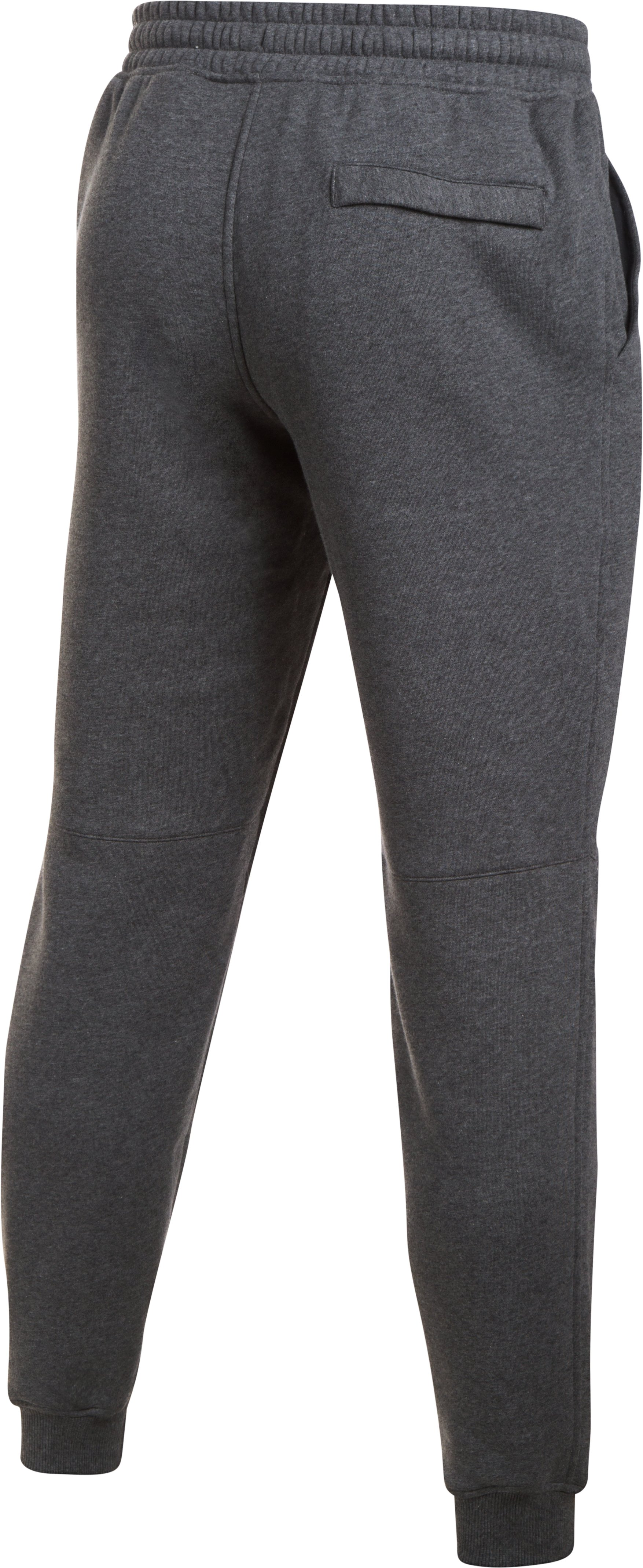 Men's UA Rival Fleece Joggers, Carbon Heather,