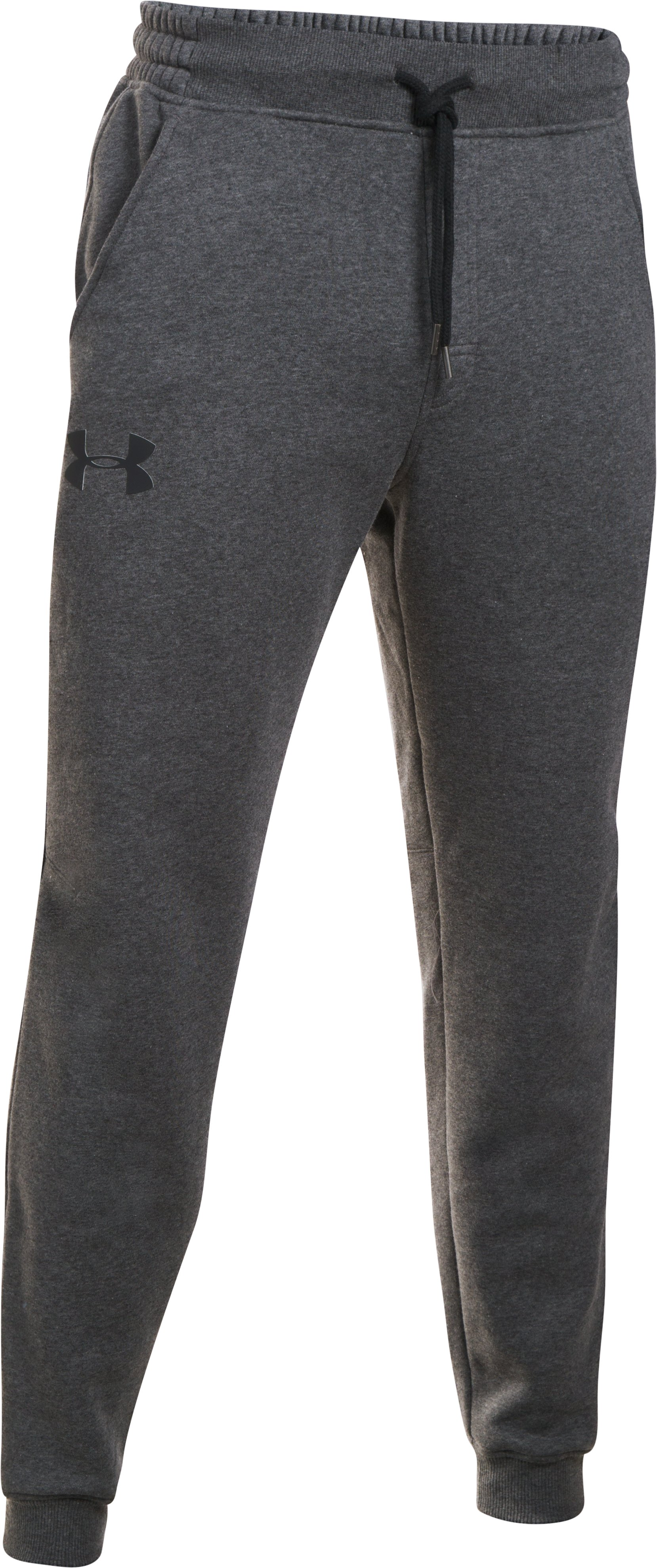 Men's UA Rival Fleece Joggers, Carbon Heather