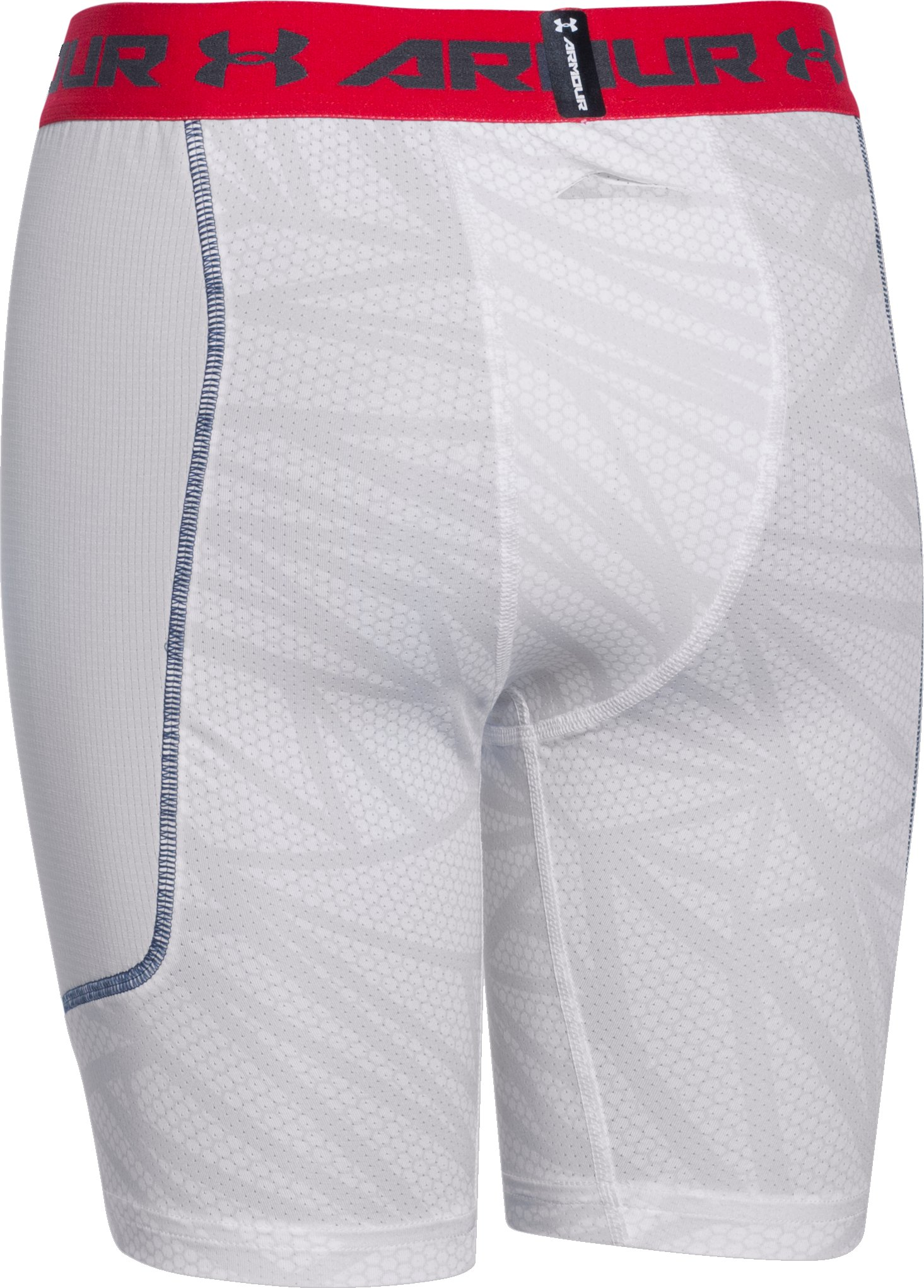 Boys' UA Undeniable Spacer Slider, White