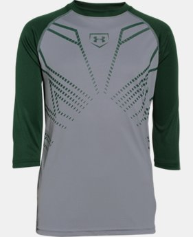 Boys' UA Undeniable Baseball ¾ Sleeve T-Shirt LIMITED TIME: FREE U.S. SHIPPING 1 Color $17.24 to $22.99