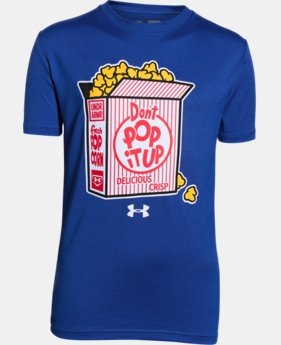 Boys' UA Don't Pop It Up T-Shirt LIMITED TIME: FREE SHIPPING  $19.99