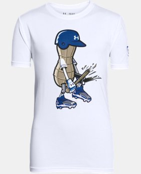 Boys' UA Baseball Peanut T-Shirt LIMITED TIME: FREE SHIPPING 1 Color $19.99
