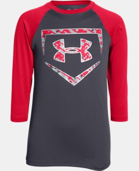 Boys' UA 9 Strong ¾ Sleeve T-Shirt  4 Colors $18.99