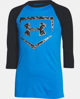 Boys' UA 9 Strong ¾ Sleeve T-Shirt  1 Color $18.99