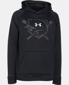 Boys' UA Storm 9 Strong Helmet Hoodie  1 Color $29.99