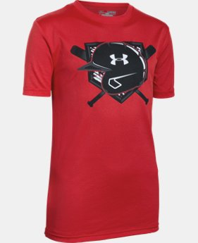 Boys' UA 9 Strong T-Shirt LIMITED TIME: FREE SHIPPING 1 Color $19.99