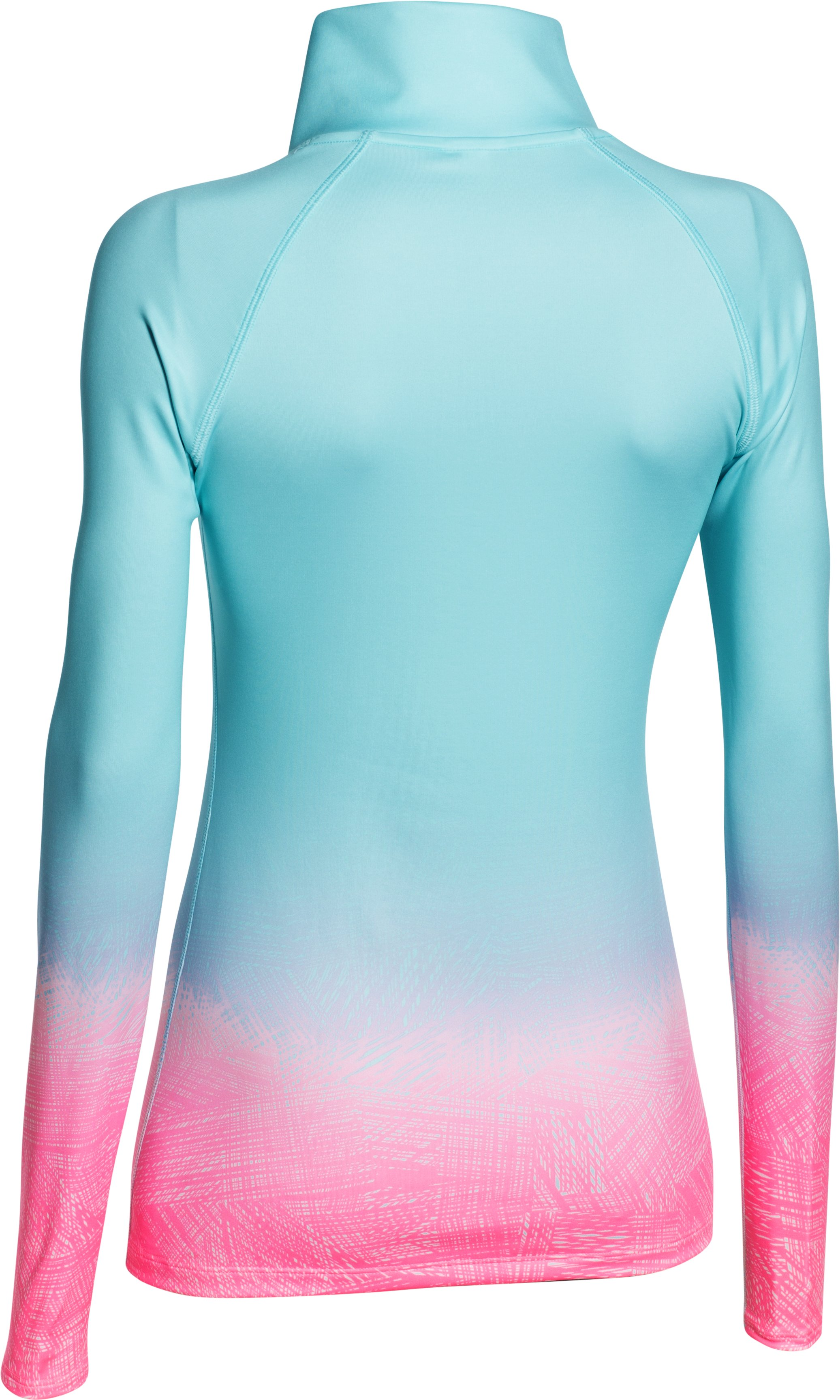 Women's UA ColdGear® Sublimated Cozy 1/2 Zip, Veneer