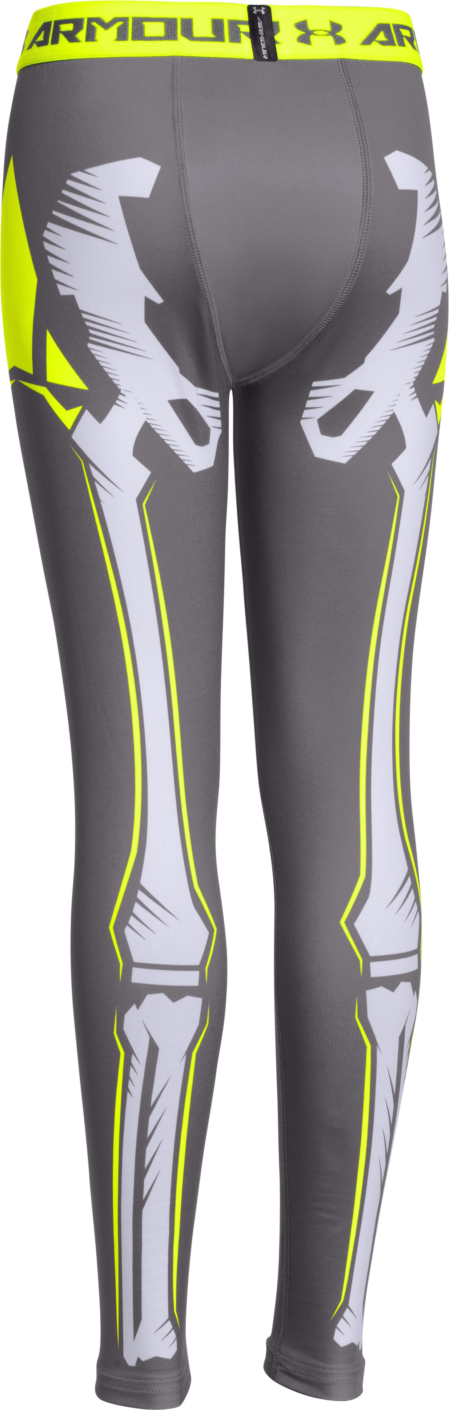 Boys' UA Bone Cold ColdGear® Legging, Graphite,