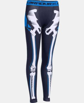 Boys' UA Bone Cold ColdGear® Legging   $24.74