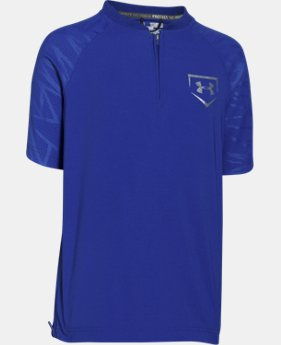 Boys' UA 9 Strong Short Sleeve Cage Jacket  1 Color $29.99 to $37.99