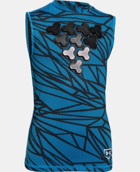 Boys' UA Undeniable Gameday Armour® Chest Sleeveless Shirt   $26.99