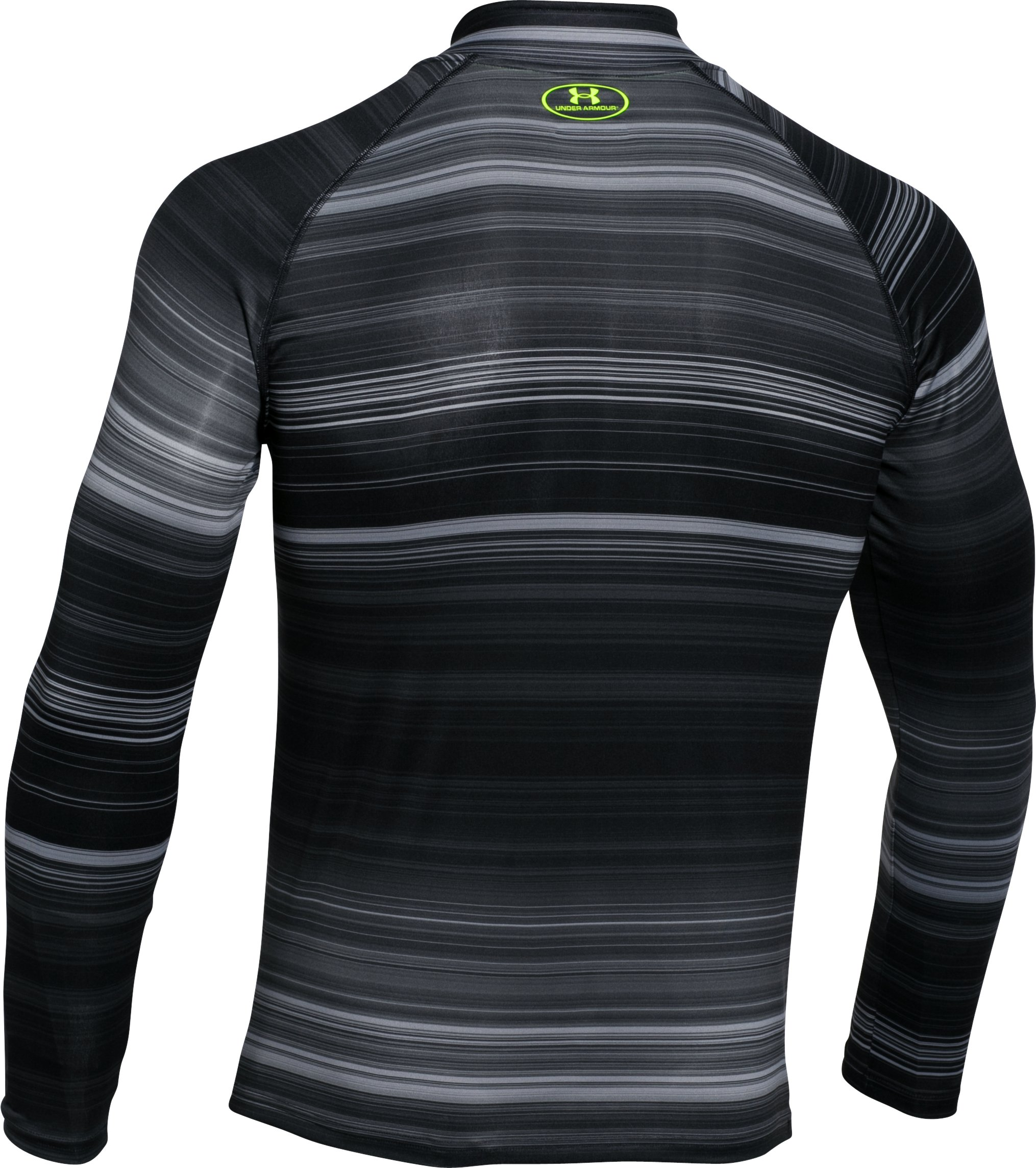 Men's UA Tech™ Printed ¼ Zip, True Gray Heather,