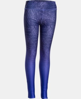 Girls' UA ColdGear® Cozy Sublimated Legging  1 Color $26.99
