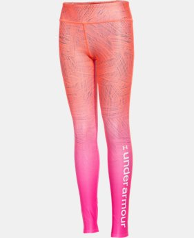 Girls' UA ColdGear® Cozy Sublimated Legging  2 Colors $35.99