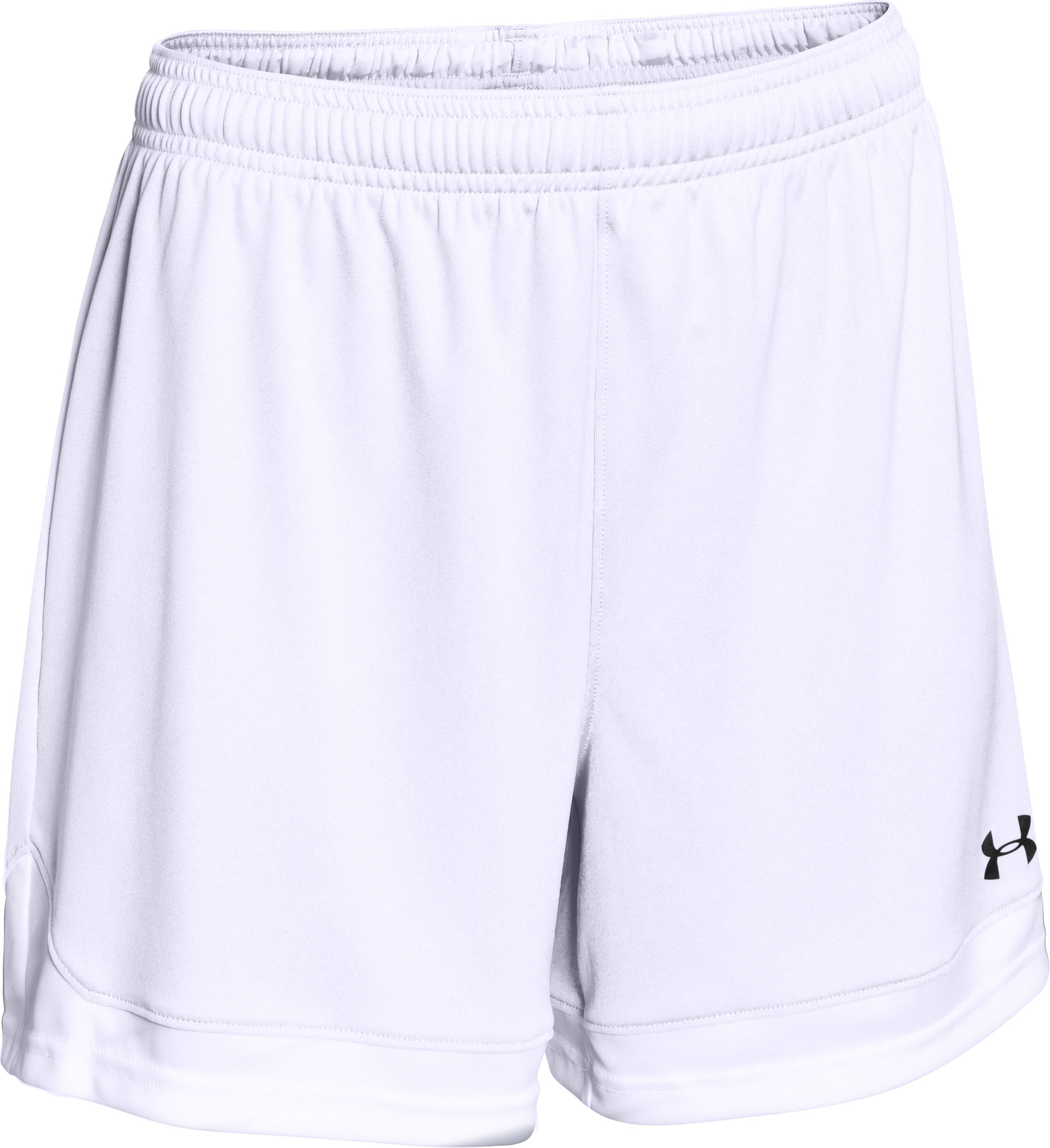 Women's UA Maquina Shorts, White,